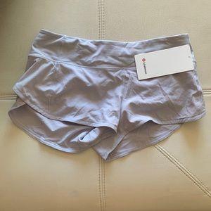 "Pants - Lulu lemon women's speed up short 2.5"" NWT lilac"